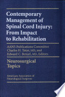 Contemporary Management of Spinal Cord Injury Book