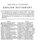 The Royal Standard English Dictionary     The Tenth Edition  Etc