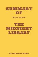 Pdf Summary of Matt Haig's The Midnight Library