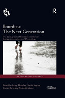 Bourdieu: The Next Generation
