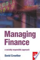 Managing Finance Book