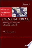 Methods And Applications Of Statistics In Clinical Trials Volume 2 Book PDF