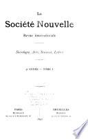 La Société nouvelle