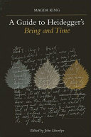 Guide to Heidegger's Being and Time, A