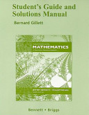 Student s Guide and Solutions Manual Using and Understanding Mathematics  A Quantitative Reasoning Approach