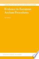 Evidence in European Asylum Procedures