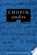 Chopin Studies 2