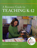 Cover of A Resource Guide for Teaching K-12