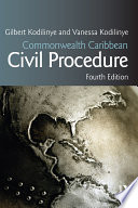 Commonwealth Caribbean Civil Procedure