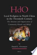 Local Religion In North China In The Twentieth Century