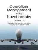 Operations Management in the Travel Industry, 2nd Edition Pdf/ePub eBook