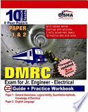 DMRC Exam for Jr  Engineer  Electrical  Guide   Workbook  10 Practice Sets  Paper I   II 2nd edition