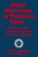 Pdf Union Resilience in Troubled Times