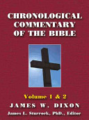 Chronological Commentary of the Bible