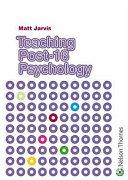 Teaching Post 16 Psychology