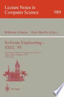 Software Engineering   ESEC  95