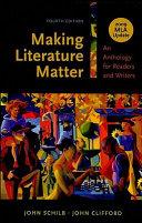 Making Literature Matter with 2009 MLA Update