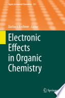 Electronic Effects In Organic Chemistry