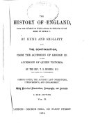 History of England from the Invasion of Julius Caesar to the End of the Reign of George II