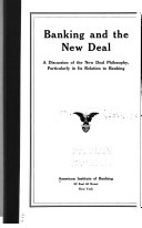 Banking and the New Deal