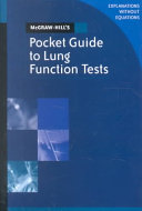 McGraw Hill s Pocket Guide to Lung Function Tests