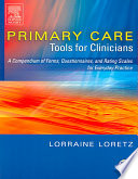 Primary Care Tools For Clinicians