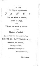 A General Dictionary, Historical and Critical