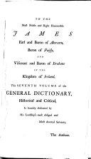 A General Dictionary