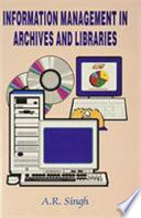 Information Management In Archives And Libraries