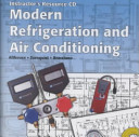 Modern Refrigeration and Air Conditioning Book