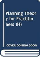 Planning Theory for Practitioners Book