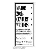 Major 20th Century Writers