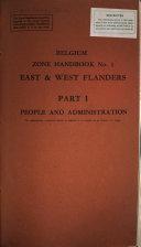 Belgium Zone Handbook