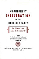 Communist Infiltration in the United States