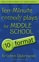 10 Minute Comedy Plays for Middle School