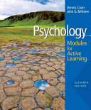 Cover of Psychology: Modules for Active Learning
