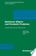 Nonlinear Elliptic and Parabolic Problems