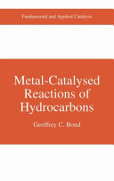 Metal Catalysed Reactions of Hydrocarbons