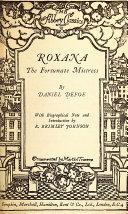 Roxana  the Fortunate Mistress