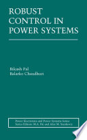 Robust Control in Power Systems Book