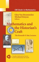 Mathematics and the Historian s Craft
