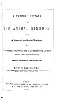A Natural History of the Animal Kingdom