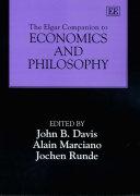 The Elgar Companion to Economics and Philosophy