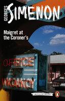 Maigret at the Coroner's [Pdf/ePub] eBook