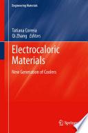 Electrocaloric Materials Book PDF