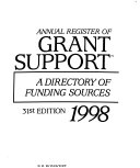 Annual Register of Grant Support 1998