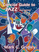 Concise Guide to Jazz Book