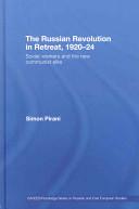 The Russian Revolution in Retreat  1920 24