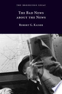 The Bad News about the News