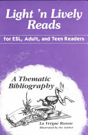 Light 'n Lively Reads for ESL, Adult, and Teen Readers: A Thematic ...